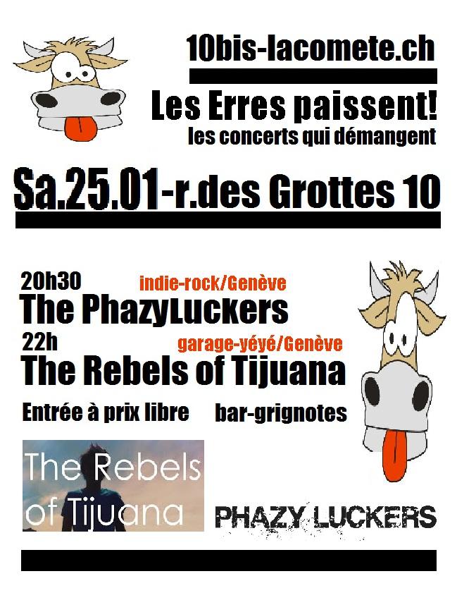 Phazy Gig 10bis Geneve Jan 2014